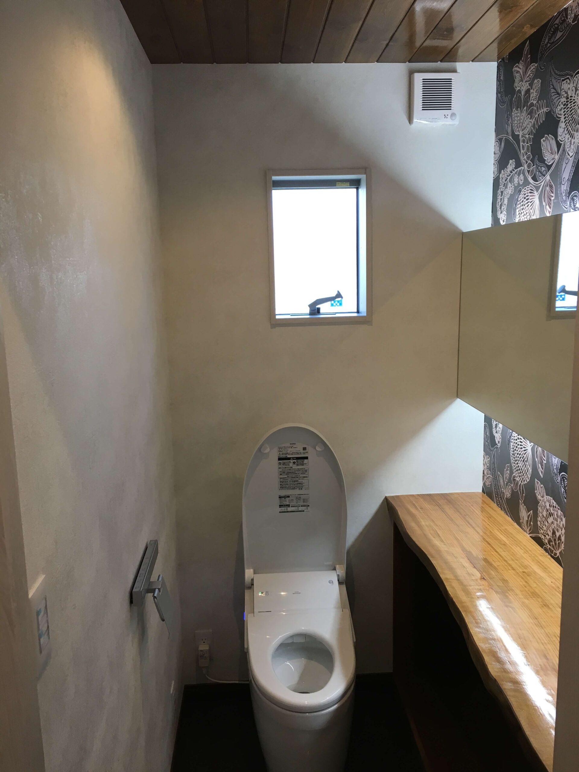 トイレのリフォームafter