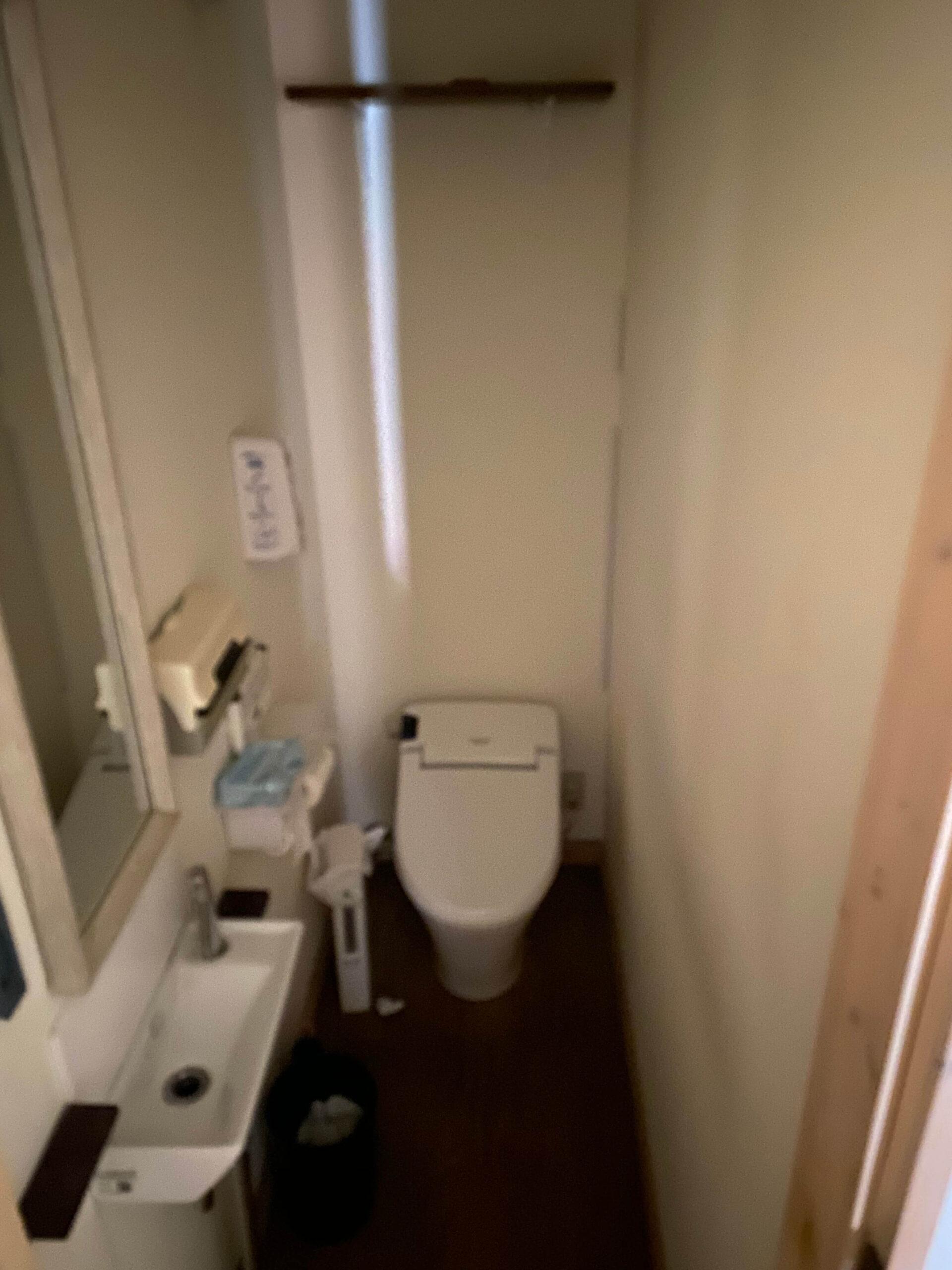 トイレのリフォームbefor