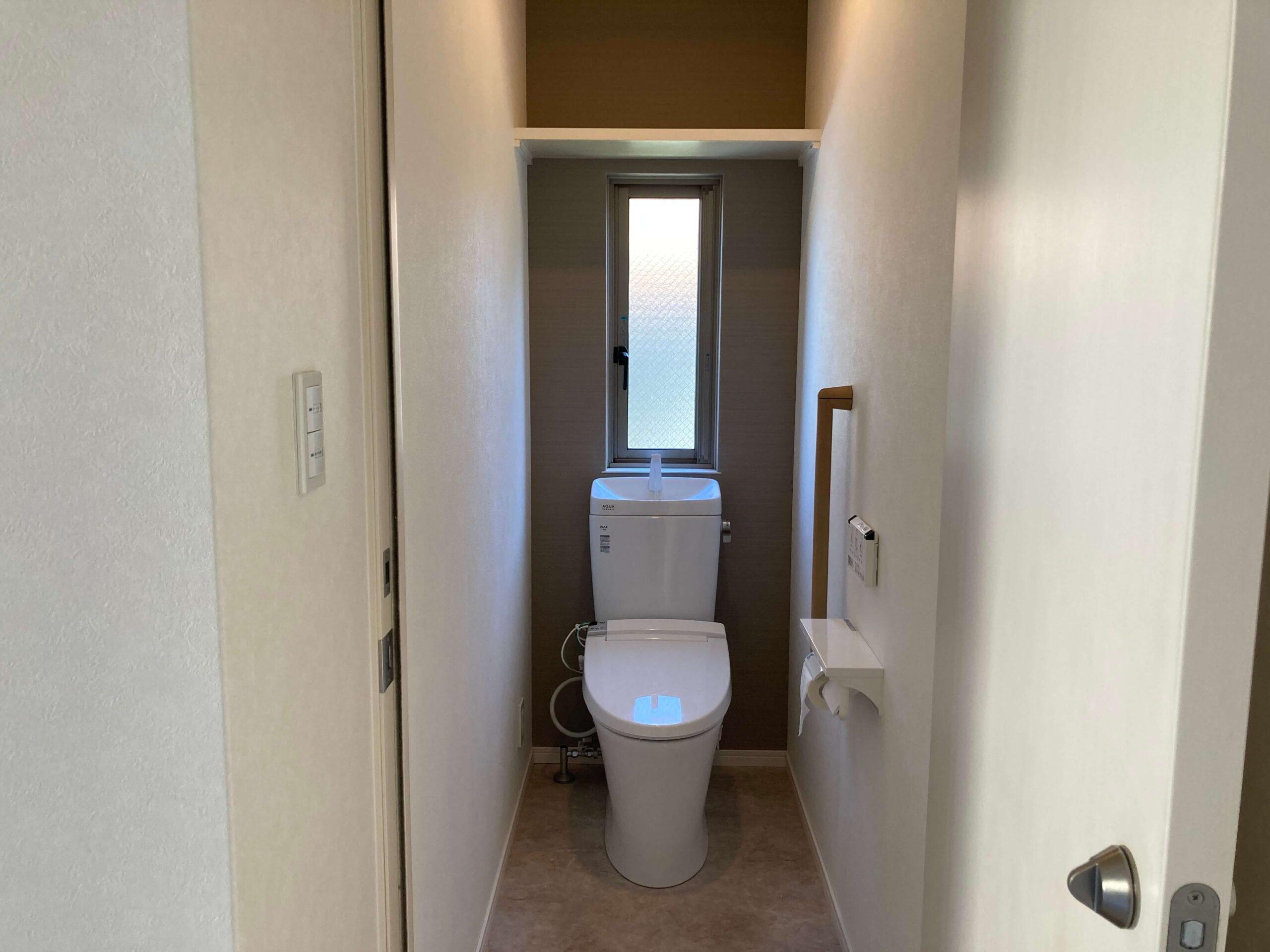 1Fトイレのリフォームafter